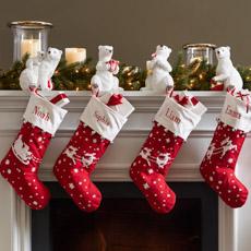 Chaussettes De Noël Et Porte-Chaussettes