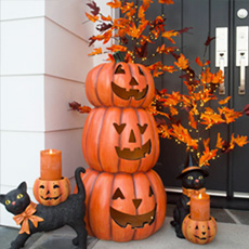 Fall & Halloween Decor on Sale