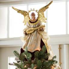 Christmas Tree Toppers & Angels