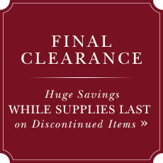Huge Savings While Supplies Last on Discounted Items
