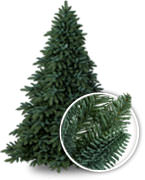 Artificial Christmas Tree Types.Artificial Christmas Trees By Needle Type Balsam Hill