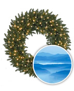 Smoky Mountain Signature™ Wreaths and Garland Collection